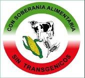 Logo con soberanía alimentaria Sin transgénicos