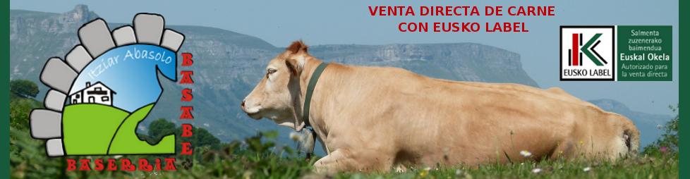 Basabe Baserria - Venta Directa de Carne con Eusko Label